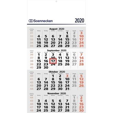 Soennecken 4-Monats-Wandkalender 2020