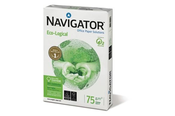 Kopierpapier Navigator Eco-Logical A4 75gr. 82467A75S
