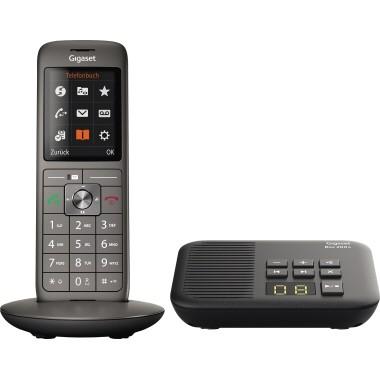 Gigaset Schurlostelefon CL660A mit Box 200 S30852-H2824-B111 an