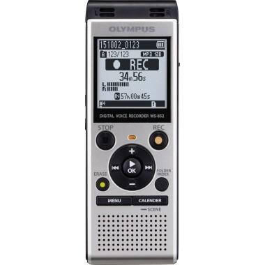 OLYMPUS Diktiergerät WS-852 Stereo-Recorder WS-852-E1-SLV