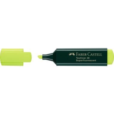 Faber-Castell Textmarker TEXTLINER 48 154807 1-5mm gelb