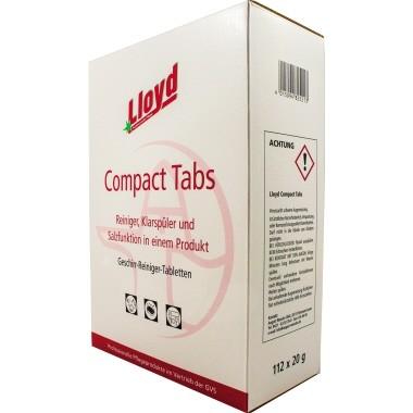 Lloyd Spülmaschinentabs 95074 - 112 Tabs in der Packung