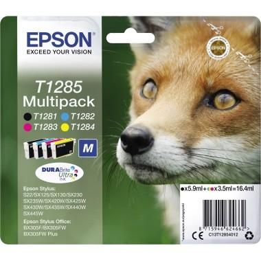 Epson Tintenpatrone C13T12854012 sw/c/m/y 4 St./Pack.