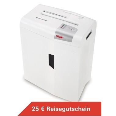 HSM Aktenvernichter Shredstar X6 pro 1046111 2x15mm weiß