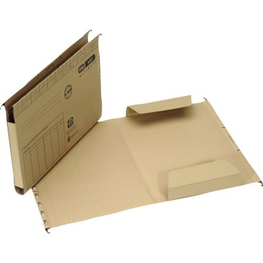ELBA Hängemappe ULTIMATE 100555356 DIN A4 240g Karton naturbraun