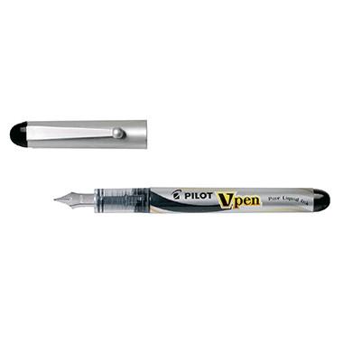 PILOT Füllfederhalter V-Pen 1132001 0,4mm schwarz