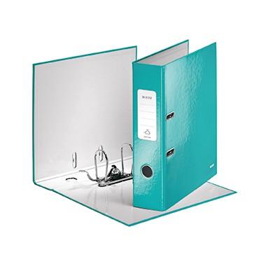 Leitz Ordner WOW 10050051 DIN A4 80mm Pappe eisblau