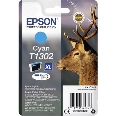 Epson Tintenpatrone C13T13024012 T1302 10,1ml cyan