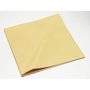 Fensterputztuch 35x40cm Kunstleder gelb