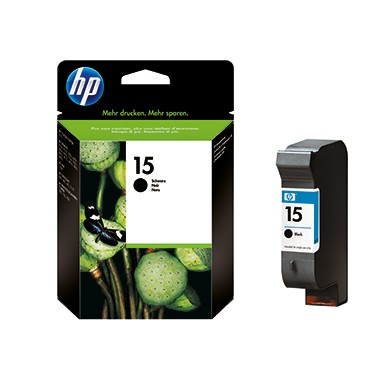 HP Tintenpatrone C6615DE 15 25ml schwarz