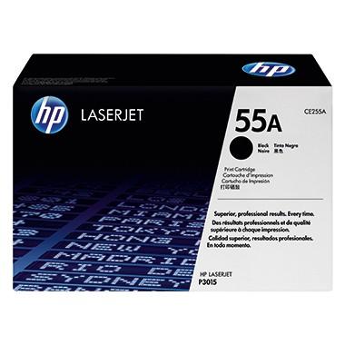 HP Toner CE255A 55A 6.000 Seiten schwarz