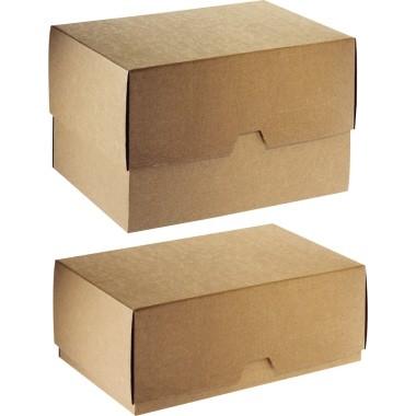 Ratioform Stülpdeckelkarton 196-20 DIN A4+ 320x240x80mm mit Deckel br