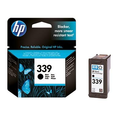 HP Tintenpatrone C8767EE 339 21ml schwarz