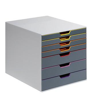 Soennecken Schubladenbox SW  4 geschlossenen Schüben 1555