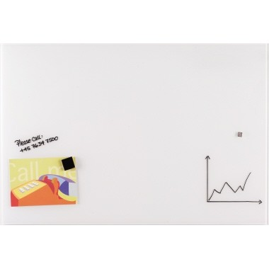 Franken Glastafel GTL456009 60x45cm weiß