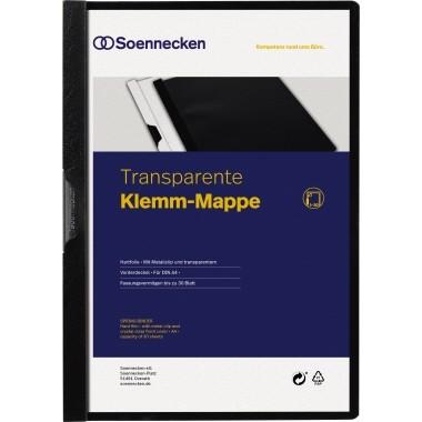Soennecken Klemm-Mappe schwarz